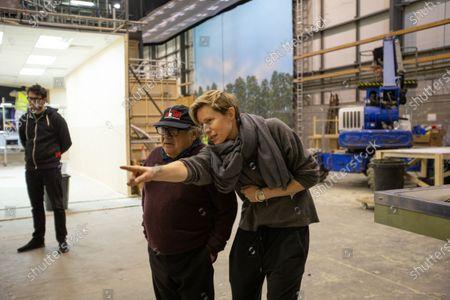 Stock Image of Danny DeVito and Thea Sharrock Director