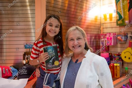 Stock Picture of Ariana Greenblatt and Katherine Applegate Book Author