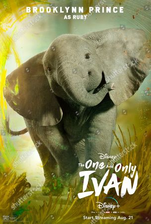The One and Only Ivan (2020) Poster Art. Ruby (Brooklynn Prince)