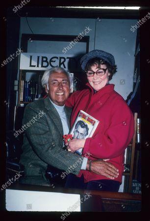 Stewart Granger and Ava Gardner book signing