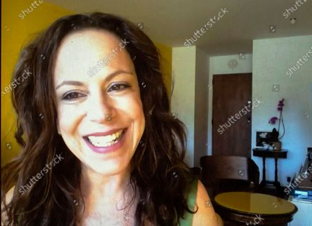 "Stock Picture of Singer Bebel Gilberto appears during an interview via zoom in Rio de Janeiro, Brazil, . Gilberto's latest album ""Agora"" will be released Friday, Aug. 21"