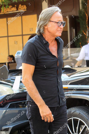 Editorial photo of Mohamed Hadid out and about, Los Angeles, USA - 19 Aug 2020