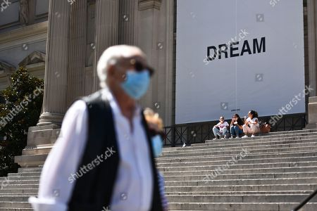 The Metropolitan Museum of Art unveils new work of art, titled Dream Together by artist Yoko Ono
