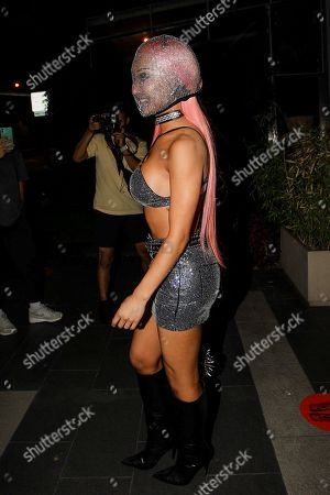 Editorial image of Nikita Dragun out and about, Los Angeles, California, USA - 19 Aug 2020