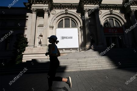 Editorial image of Virus Outbreak Museum, New York, United States - 20 Aug 2020