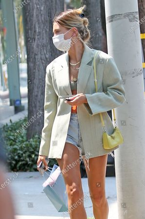 Editorial picture of Hailey Bieber out and about, Los Angeles, USA - 20 Aug 2020