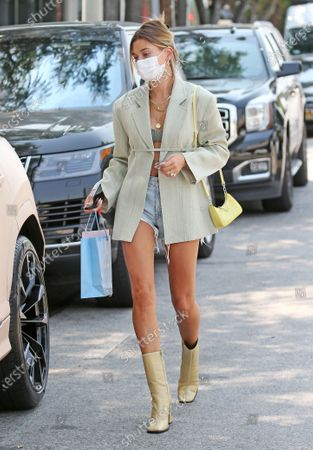 Editorial image of Hailey Bieber out and about, Los Angeles, USA - 20 Aug 2020
