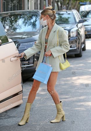 Editorial photo of Hailey Bieber out and about, Los Angeles, USA - 20 Aug 2020