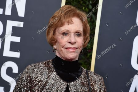 Editorial image of People Carol Burnett, Beverly Hills, United States - 06 Jan 2020