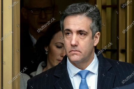 Michael Cohen, President Donald Trump's former lawyer, leaves federal court after his sentencing in New York. The arrest of President Donald Trump's former chief strategist Steve Bannon adds to a growing list of Trump associates ensnared in legal trouble. They include the president's former campaign chair, Paul Manafort, whom Bannon replaced, his longtime lawyer, Michael Cohen, and his former national security adviser, Michael Flynn