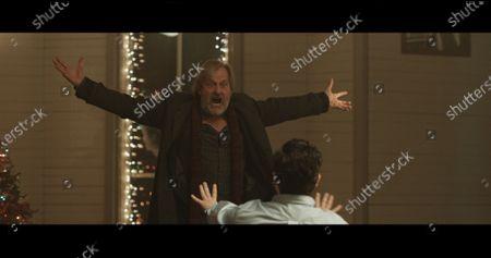 Jeff Daniels as Joseph Harris and Thomas Macias as Kenneth Waters
