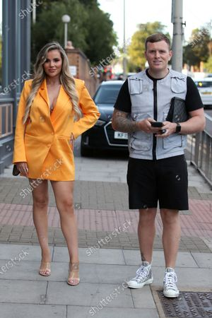 Editorial photo of 'The Only Way is Essex' TV Show filming, Essex, UK - 20 Aug 2020