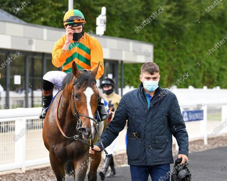 Editorial photo of Behind Closed Doors Race Meeting, Horse Racing, Salisbury Racecourse, Wiltshire, United Kingdom - 21 Aug 2020