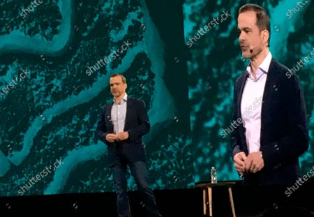 Stock Photo of This June 2019 photo shows Jeff Wilke at an Amazon conference in Las Vegas. Amazon says executive Wilke, who oversees the company's retail business, will retire early in 2021. He will be replaced by Dave Clark, who runs Amazon's warehouses and delivery network. Wilke has been at Amazon for more than two decades