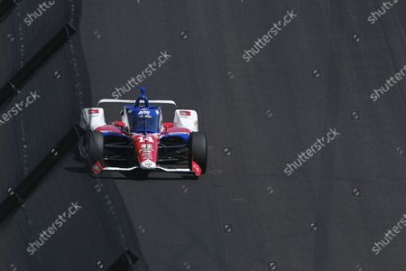 Editorial photo of IndyCar Indy 500 Auto Racing, Indianapolis, United States - 21 Aug 2020