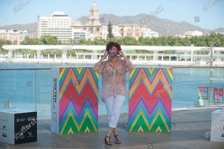 Stock Picture of Spanish director Iciar Bollain attends 'La Boda De Rosa' photocall