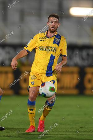 "Marcus Rohden (Frosinone)                                     during the Italian ""Serie B Play Off  match between Spezia 0-1 Frosinone   at  Alberto Picco  Stadium on August 20 , 2020 in La Spezia, Italy."