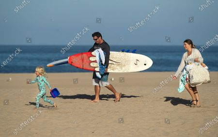 Editorial photo of People enjoy the summer on the westside, Venice Beach, Venice, California, United States - 09 Aug 2020