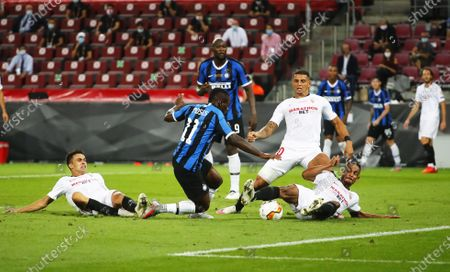 Editorial image of Sevilla FC vs Internazionale, Cologne, Germany - 21 Aug 2020