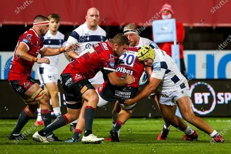 Editorial photo of Gloucester Rugby v Bristol Bears, UK - 21 Aug 2020