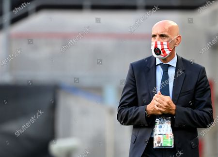 Sevilla's general sports manager Ramon Rodriguez Verdejo before the Europa League final soccer match between Sevilla and Inter Milan in Cologne, Germany