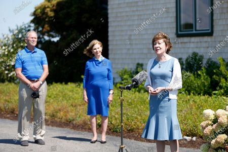 Editorial picture of Election 2020 Senate Maine, Kennebunkport, United States - 21 Aug 2020
