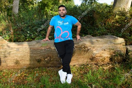 Stock Picture of Shahid Khan, better known as DJ and producer Naughty Boy, takes part in a Memory Walk this afternoon with his family, joining thousands of people across the UK who are completing their own walk this summer, to raise vital funds for Alzheimer's Society. Naughty Boy's personal connection to dementia comes after his mother, Zahida was diagnosed with vascular dementia last year after having a stroke.