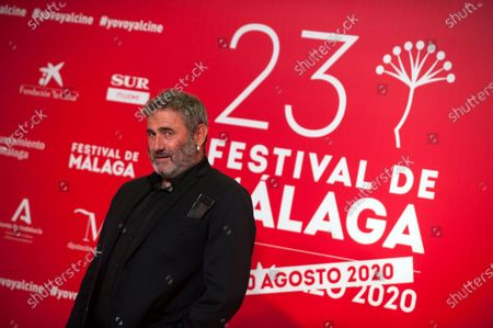 Spanish actor Sergi Lopez attends the Malaga Film Festival at Miramar Hotel. The 23rd edition of the Spanish Malaga Film Festival is the first great cinematographic event in Spain after it was postponed due to coronavirus pandemic last month of March. The organization has introduced measures to prevent the spread for coronavirus and to guarantee a secure event. The festival will be held from 21 to 30 August.