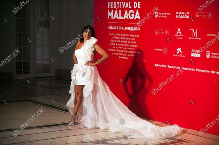 Spanish actress Candela Pena attends the Malaga Film Festival at Miramar Hotel. The 23rd edition of the Spanish Malaga Film Festival is the first great cinematographic event in Spain after it was postponed due to coronavirus pandemic last month of March. The organization has introduced measures to prevent the spread for coronavirus and to guarantee a secure event. The festival will be held from 21 to 30 August.