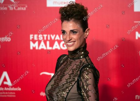 Spanish actress Ruth Gabriel attends the Malaga Film Festival at Miramar Hotel. The 23rd edition of the Spanish Malaga Film Festival is the first great cinematographic event in Spain after it was postponed due to coronavirus pandemic last month of March. The organization has introduced measures to prevent the spread for coronavirus and to guarantee a secure event. The festival will be held from 21 to 30 August.