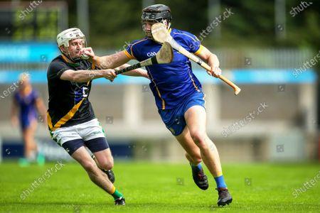 Stock Photo of Na Fianna vs Faughs. Na Fianna's Donal Burke and Stephen Casey of Faughs