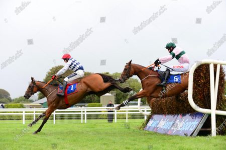 Stock Image of KILLARNEY 22-August-2020 GALVIN and Keith Donoghue win for owner Ronnie Bartlett and trainer Gordon Elliott from WAITNSEE (Danny Mullins).