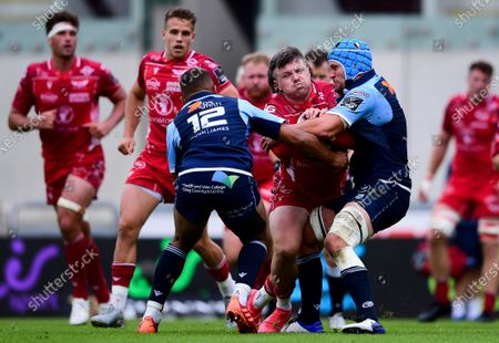 Editorial photo of Guinness PRO14, Parc y Scarlets, Llanelli, UK - 22 Aug 2020