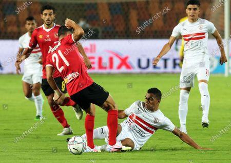 Editorial photo of Zamalek SC vs Al Ahly SC, Cairo, Egypt - 22 Aug 2020
