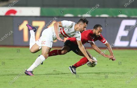 Editorial picture of Zamalek SC vs Al Ahly SC, Cairo, Egypt - 22 Aug 2020
