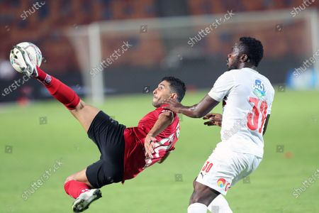 Editorial image of Zamalek SC vs Al Ahly SC, Cairo, Egypt - 22 Aug 2020