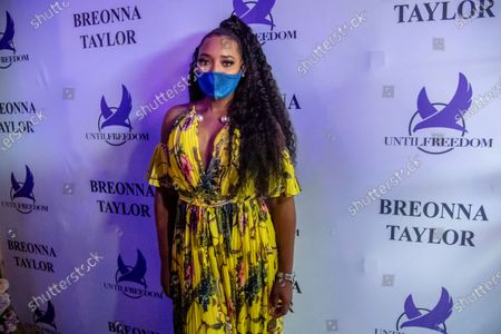 Yandy Smith-Harris poses for a photo at the Taylor-Made Women's Empowerment Event at Vibes presented by Until Freedom on day one of BreonnaCon, in Louisville, KY