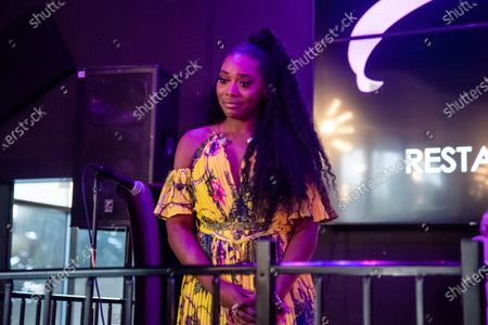 Yandy Smith-Harris attends the Taylor-Made Women's Empowerment Event at Vibes presented by Until Freedom on day one of BreonnaCon, in Louisville, KY
