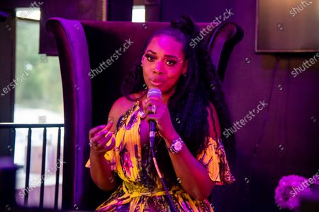 Yandy Smith-Harris speaks at the Taylor-Made Women's Empowerment Event at Vibes presented by Until Freedom on day one of BreonnaCon, in Louisville, KY