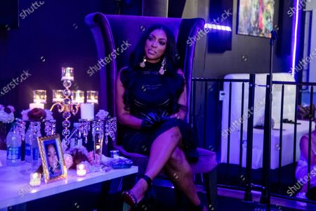 Actress Porsha Williams attends the Taylor-Made Women's Empowerment Event at Vibes presented by Until Freedom on day one of BreonnaCon, in Louisville, KY