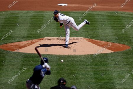 Editorial picture of Rays Yankees Baseball, New York, United States - 20 Aug 2020