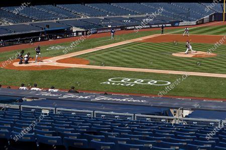 Editorial photo of Rays Yankees Baseball, New York, United States - 20 Aug 2020