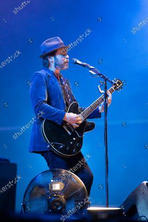 Editorial photo of Supergrass concert, Newcastle upon Tyne, UK - 22 Aug 2020