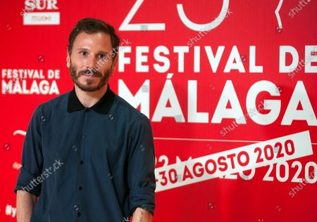 Spanish actor Ruben Ochandiano attends the Malaga Film Festival at Miramar Hotel. The 23rd edition of the Spanish Malaga Film Festival is the first great cinematographic event in Spain after it was postponed due to coronavirus pandemic last month of March. The organization has introduced measures to prevent the spread for coronavirus and to guarantee a secure event. The festival will be held from 21 to 30 August.