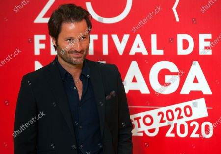 Spanish actor Fernando Andina attends the Malaga Film Festival at Miramar Hotel. The 23rd edition of the Spanish Malaga Film Festival is the first great cinematographic event in Spain after it was postponed due to coronavirus pandemic last month of March. The organization has introduced measures to prevent the spread for coronavirus and to guarantee a secure event. The festival will be held from 21 to 30 August.