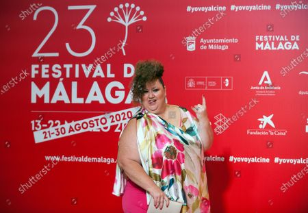 Spanish actress Itziar Castro attends the Malaga Film Festival at Miramar Hotel. The 23rd edition of the Spanish Malaga Film Festival is the first great cinematographic event in Spain after it was postponed due to coronavirus pandemic last month of March. The organization has introduced measures to prevent the spread for coronavirus and to guarantee a secure event. The festival will be held from 21 to 30 August.