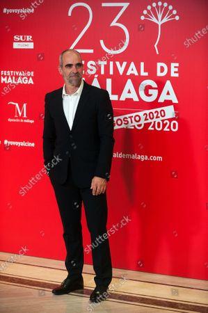 Spanish actor Luis Tosar attends the Malaga Film Festival at Miramar Hotel. The 23rd edition of the Spanish Malaga Film Festival is the first great cinematographic event in Spain after it was postponed due to coronavirus pandemic last month of March. The organization has introduced measures to prevent the spread for coronavirus and to guarantee a secure event. The festival will be held from 21 to 30 August.
