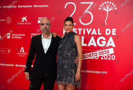 Spanish actor Luis Tosar and and Chilean actress Luisa Mayol attend the Malaga Film Festival at Miramar Hotel. The 23rd edition of the Spanish Malaga Film Festival is the first great cinematographic event in Spain after it was postponed due to coronavirus pandemic last month of March. The organization has introduced measures to prevent the spread for coronavirus and to guarantee a secure event. The festival will be held from 21 to 30 August.