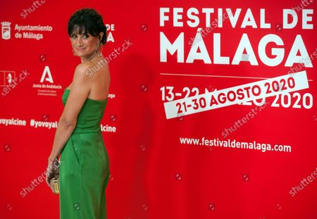 Spanish and Argentinian actress Maria Botto attends the Malaga Film Festival at Miramar Hotel. The 23rd edition of the Spanish Malaga Film Festival is the first great cinematographic event in Spain after it was postponed due to coronavirus pandemic last month of March. The organization has introduced measures to prevent the spread for coronavirus and to guarantee a secure event. The festival will be held from 21 to 30 August.