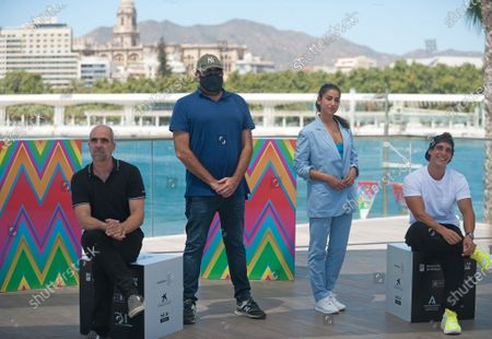 "Editorial picture of ""Hasta el cielo"" photocall, Malaga, Spain - 22 Aug 2020"
